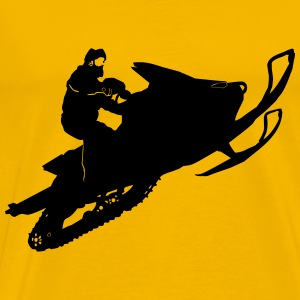 Snowmobil - Men's Premium T-Shirt