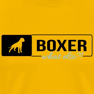 Boxer what else - Men's Premium T-Shirt