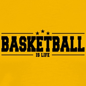 Basketball is life 1 - Men's Premium T-Shirt
