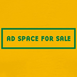 Advertising Space For Sale - Men's Premium T-Shirt