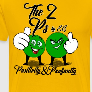 The 2 Ps by EG - Men's Premium T-Shirt