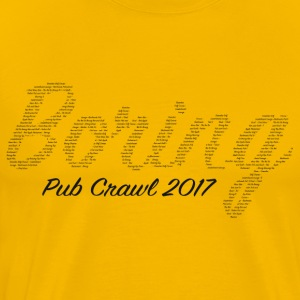 Boring Pub Crawl - Men's Premium T-Shirt