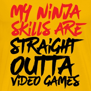 Gamer Ninja Skills Straight Outta Video Games