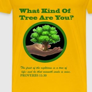 WHAT KIND OF TREE ARE YOU? - Men's Premium T-Shirt