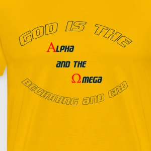alpha omega - Men's Premium T-Shirt