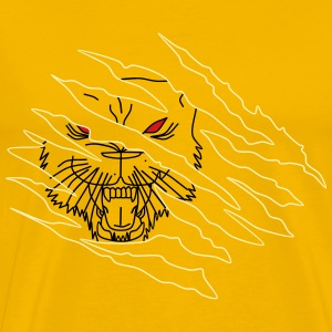 Tiger Attack - Men's Premium T-Shirt