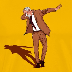 Jeremy Corbyn Labour 2017 DAB ON - Men's Premium T-Shirt