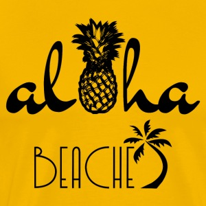 Aloha Beaches - Men's Premium T-Shirt