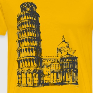 Leaning Tower of Pisa - Men's Premium T-Shirt