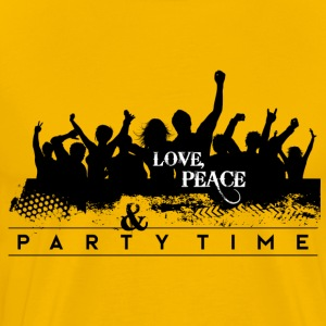 Love Peach & PARTY - Men's Premium T-Shirt