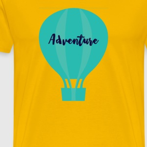 Adventure Hot Air Balloon - Men's Premium T-Shirt