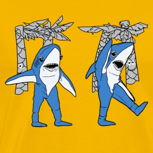 Left Shark Superbowl - Men's Premium T-Shirt