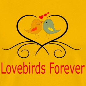 Lovebirds Forever - Men's Premium T-Shirt