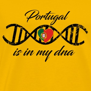 love my dns dna land country Portugal - Men's Premium T-Shirt