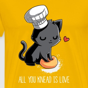 All You Knead Is Love - Men's Premium T-Shirt