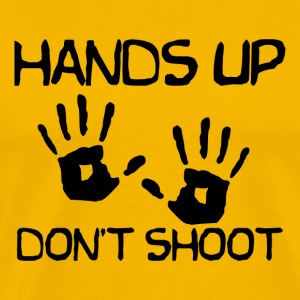 hands up dont shoot michael brown - Men's Premium T-Shirt