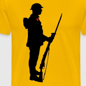 A SOLDIER WW1 - Men's Premium T-Shirt