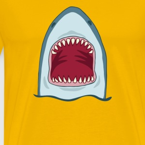 Shark Head Effect - Men's Premium T-Shirt