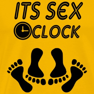 its sex oclock - Men's Premium T-Shirt
