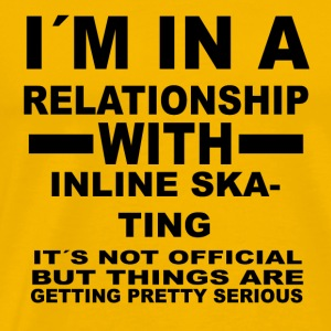 relationship with INLINE SKATING - Men's Premium T-Shirt
