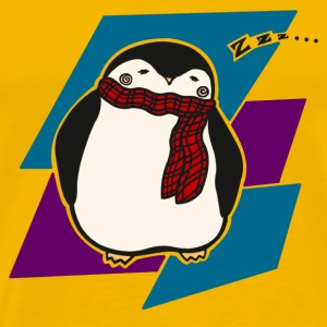 Sleepy Penguin - Men's Premium T-Shirt