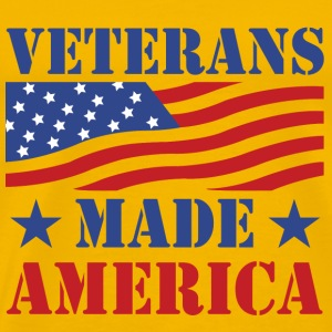 Veterans Made America logo - Men's Premium T-Shirt