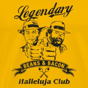 legendary beans and bacon halleluja club - Men's Premium T-Shirt