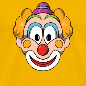 Clown Halloween Scary T-shirt - Men's Premium T-Shirt