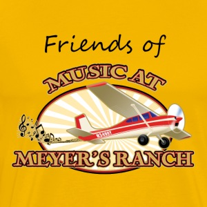 Friends of Music At Meyer's Ranch - Men's Premium T-Shirt