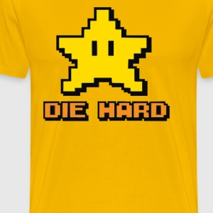 yellow die hard - Men's Premium T-Shirt