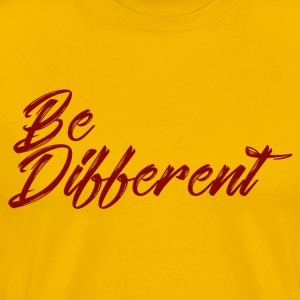 be different - Men's Premium T-Shirt