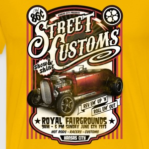 Street Customs Cars - Men's Premium T-Shirt