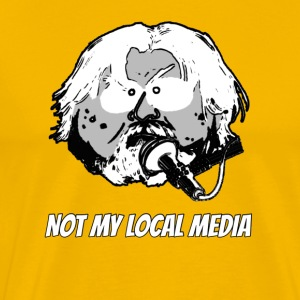 Not My Local Media - Men's Premium T-Shirt