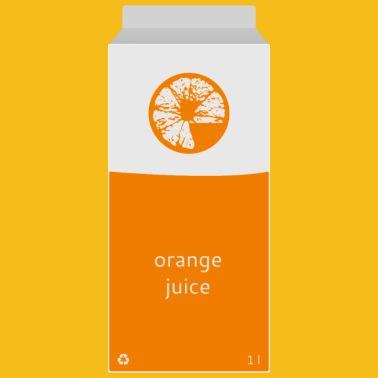 87aace36524 Orange juice shirt Kids  Premium Longsleeve Shirt