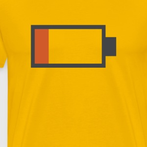 Low Battery Shirt - Men's Premium T-Shirt
