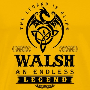 WALSH - Men's Premium T-Shirt