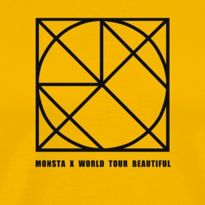 Monsta X Beautiful World Tour Guilty Version - Men's Premium T-Shirt
