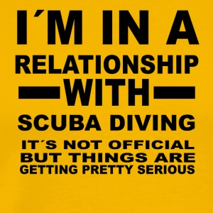 relationship with SCUBA DIVING - Men's Premium T-Shirt