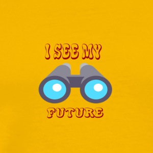 See My future - Men's Premium T-Shirt