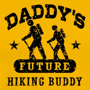 Daddy's future hiking buddy - Men's Premium T-Shirt