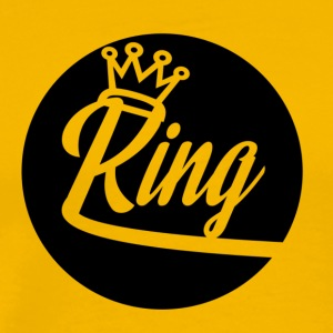 King Kunta New School Logo - Men's Premium T-Shirt