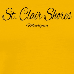 Michigan St Clair Shores US DESIGN EDITION - Men's Premium T-Shirt