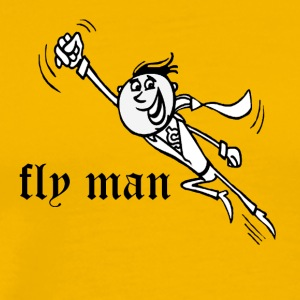 black fly man - Men's Premium T-Shirt