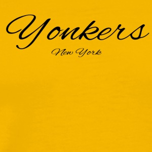 New York Yonkers US DESIGN EDITION - Men's Premium T-Shirt