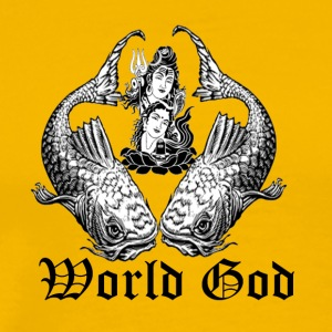 world god - Men's Premium T-Shirt