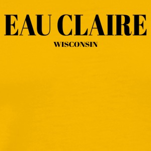 WISCONSIN EAU CLAIRE US DESIGNER EDITION - Men's Premium T-Shirt