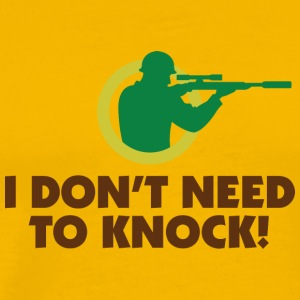 I Do Not Knock! - Men's Premium T-Shirt
