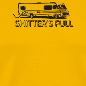 Shitter s Full - Men's Premium T-Shirt