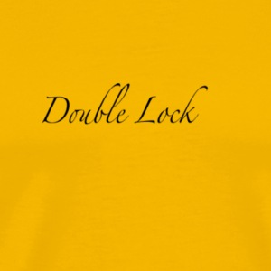 Double Lock Logo (T) - Men's Premium T-Shirt