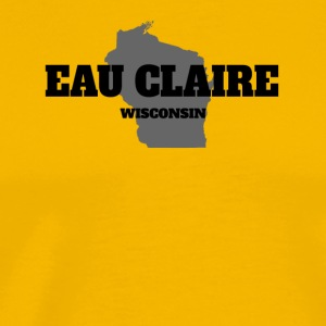 WISCONSIN EAU CLAIRE US STATE EDITION - Men's Premium T-Shirt